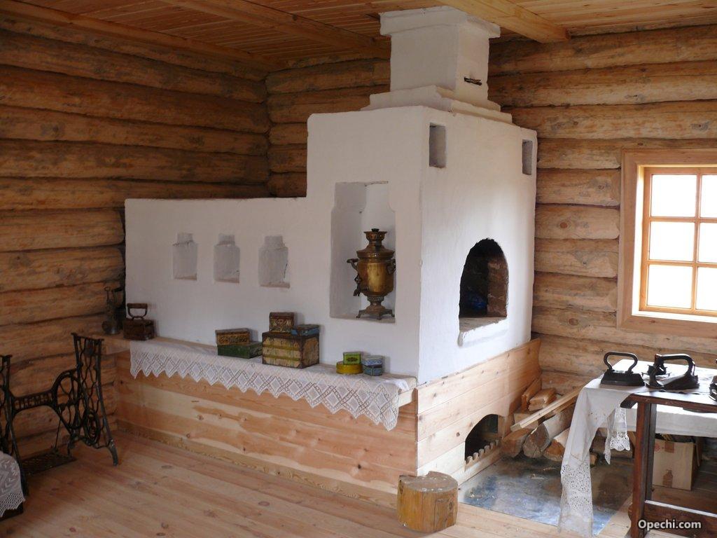 Построить русскую печь своими руками фото