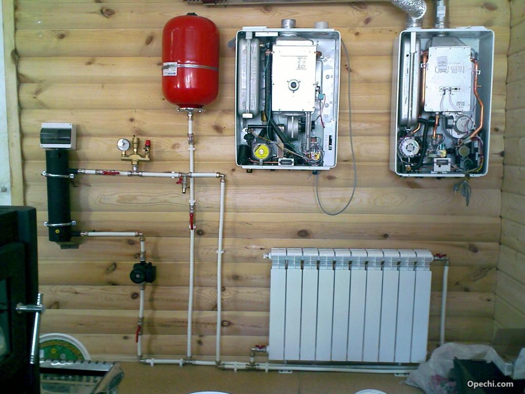 Блок электрической отопительной системы