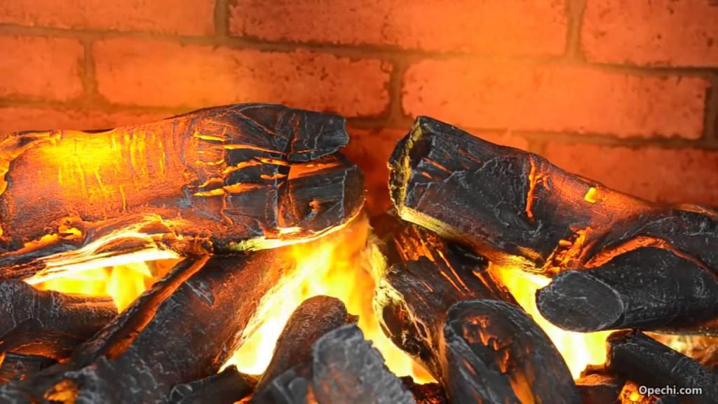 эффект натурального пламени