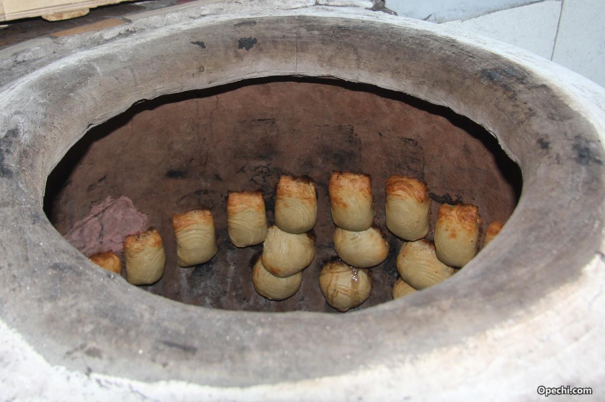 Печь тандыр из глины своими руками