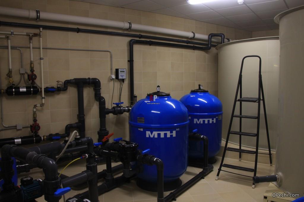 Топливные хранилища системы отопления