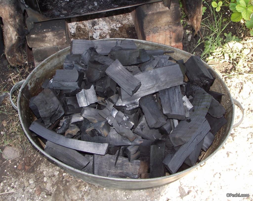 Уголь для кузнечного горна