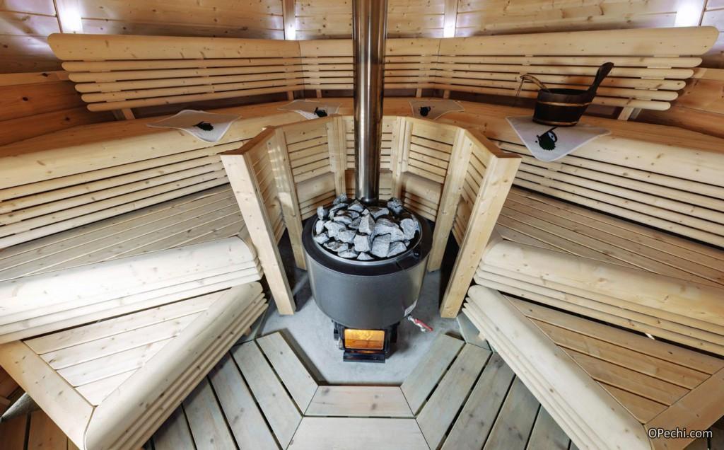 Финская банная печь