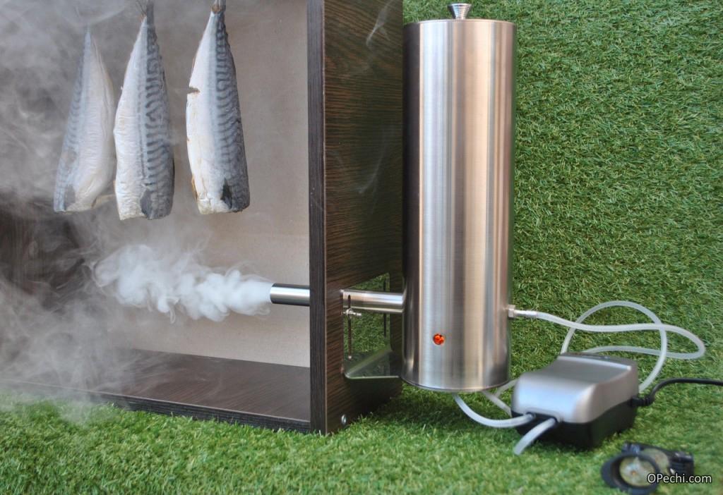 Качественный дымогенератор для коптильни