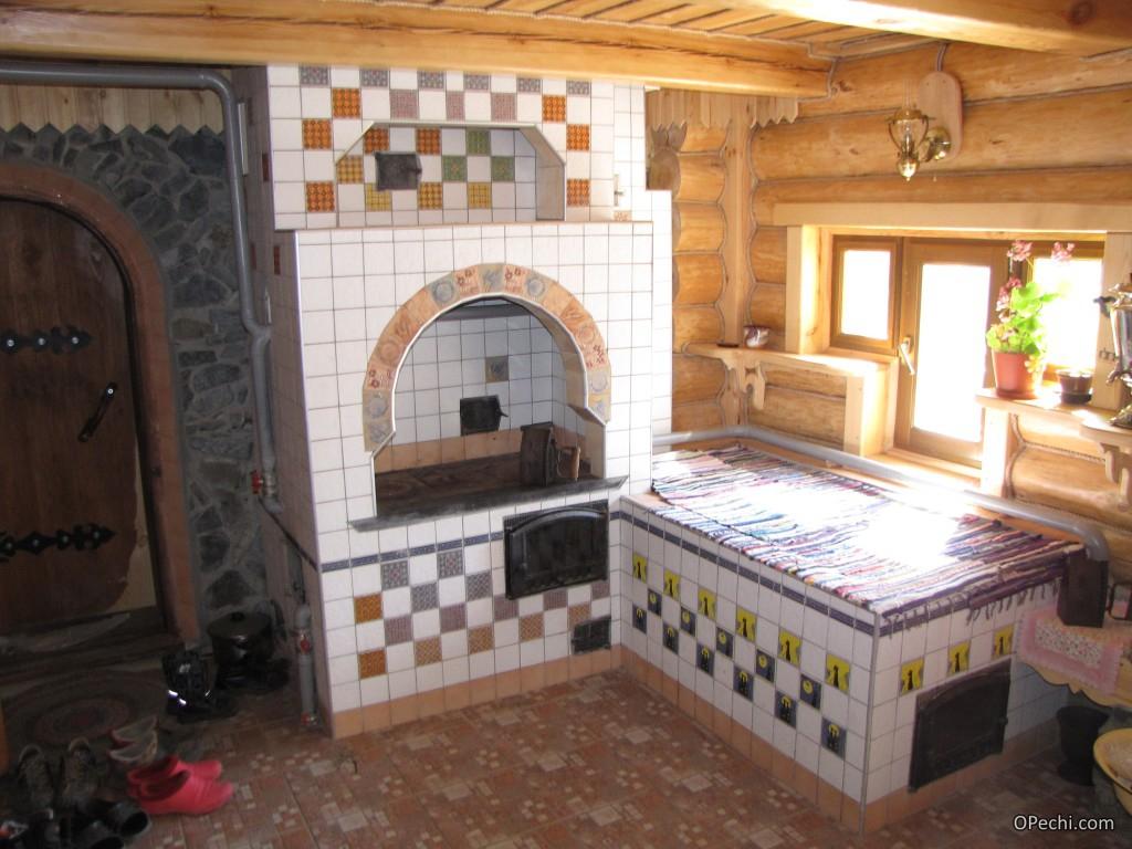 Дизайн печки в частном доме своими руками фото