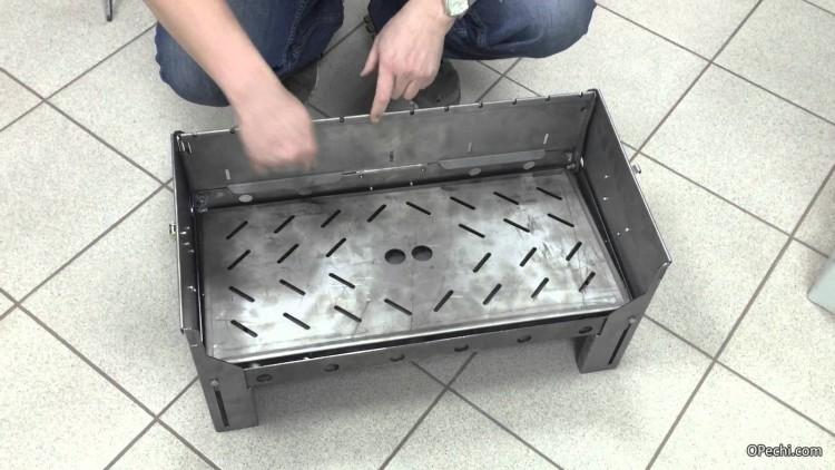 Мангал чемодан своими руками из металла чертежи фото 427