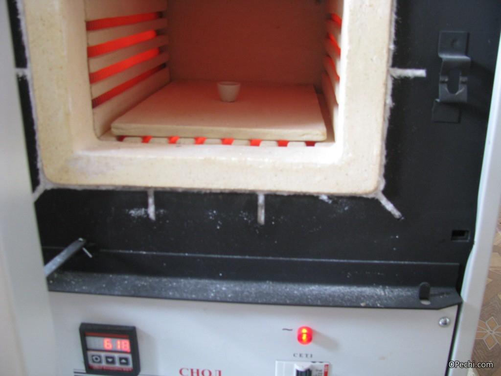 Камера муфельной печи