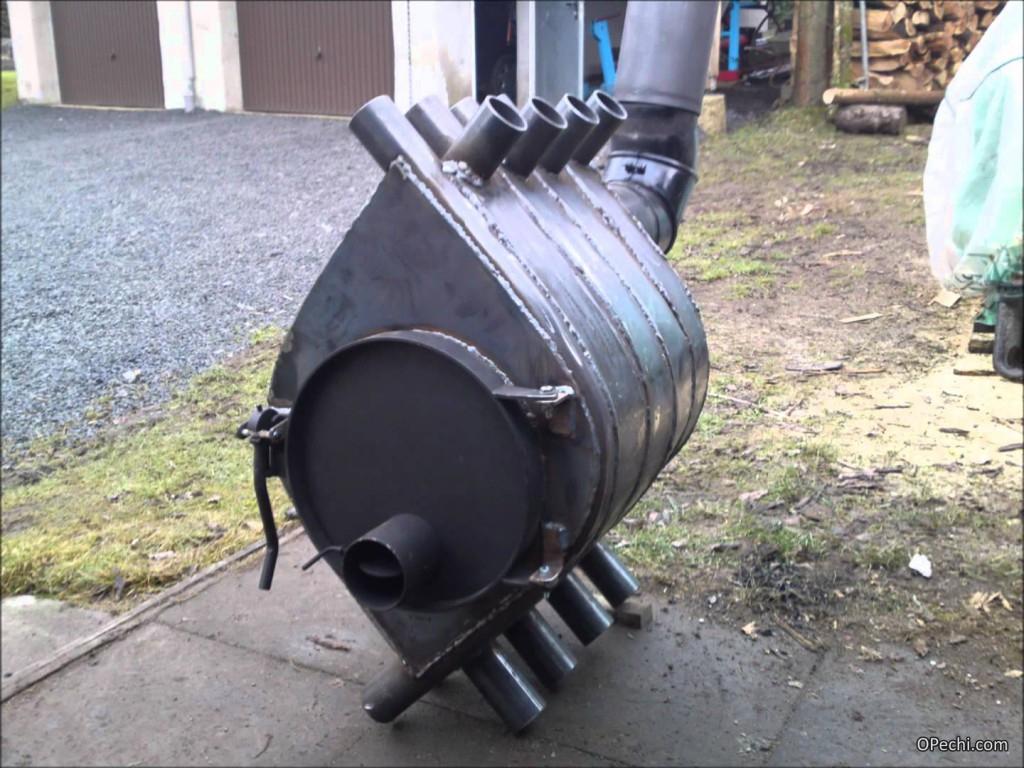 Готовая печь булерьян