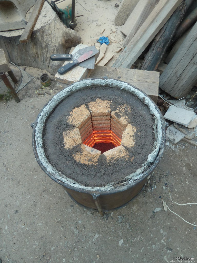 Самодельная конструкция муфельной печи