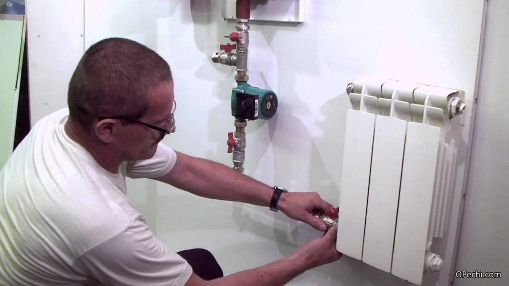 Монтаж водяной отопительной системы