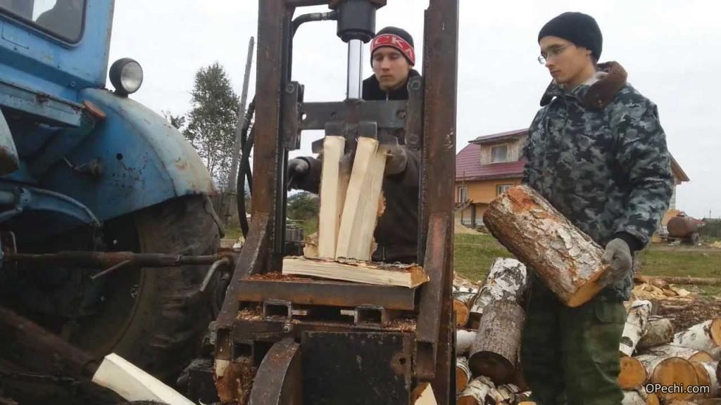 Механизм для дров