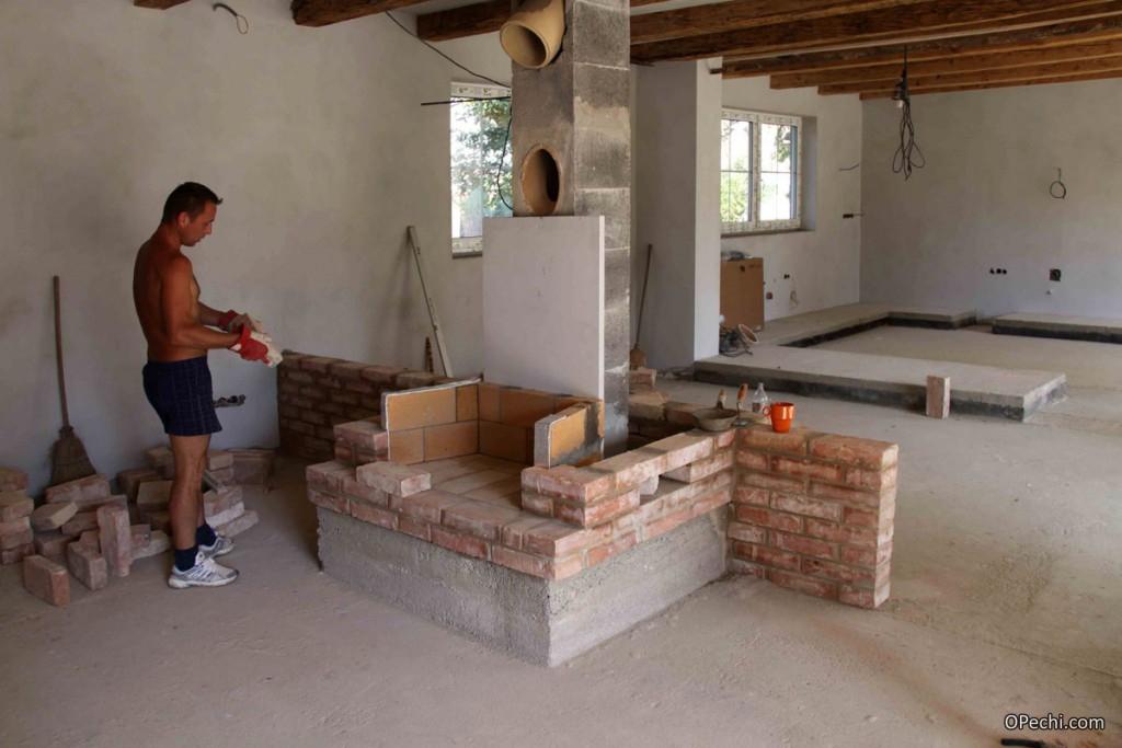 Сделать камин домашних условиях