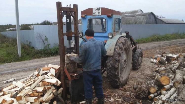 Колун для дров механический своими руками фото 797