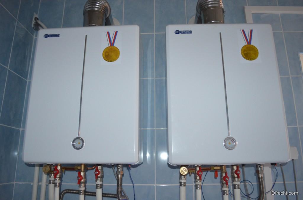 Два газовых котла